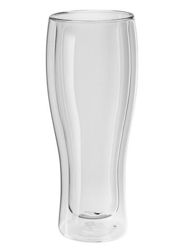 Zwilling 395002140 Çift Camlı 2Li Bira Bardağı Set Renksiz